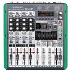 ZZIPP MIXER 6 CANALI USB SD MP3 REGISTRAZIONE ZZMX12R