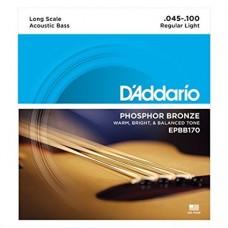 D'Addario EPBB170 Set Corde Basso Acustico 045-100