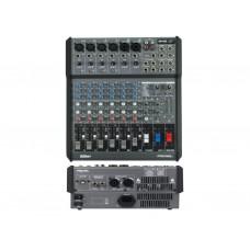 PROEL M500USB AMPLIFICATO 6 CANALI 4 LINE + 2 STEREO CON USB
