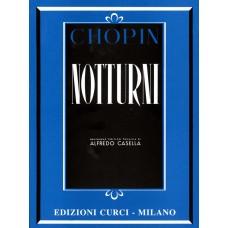 Chopin - Notturni (revisione Alfredo Casella) - Ed. Curci