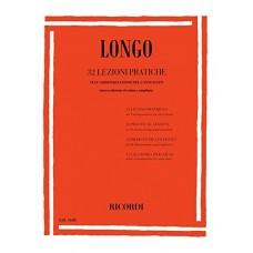 LONGO - 32 LEZIONI PRATICHE SULL'ARMONIZZAZIONE DEL CANTO DATO