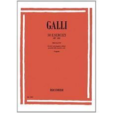 Galli - 30 Esercizi Op. 100 - per flauto