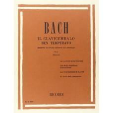 BACH - IL CLAVICEMBALO BEN TEMPERATO VOLUME I
