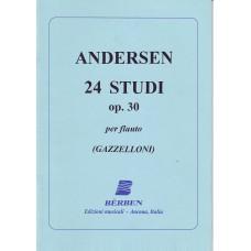 Andersen - 24 Studi Op. 30 Per Flauto