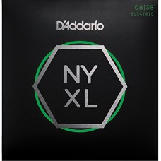 D'Addario NYXL0838 Set Corde per chitarra Elettrica 008/038