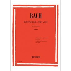 BACH ER2267A BACH INVENZIONI A TRE VOCI PER PIANOFORTE