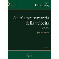 Duvernoy - Scuola preparatoria della Velocità Op. 276 per pianoforte