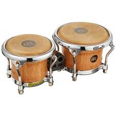 """Meinl Percussion FWB100SNT-M - Mini bonghi in legno bongos junior serie Free Ride, diametro macho: 8,89 cm (3,5""""), diametro hembra: 10,80 cm (4,25""""), colore: Super Natural"""