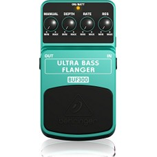 BEHRINGER ULTRA LOW BASS FLANGER BUF300 EFFETTO A PEDALE