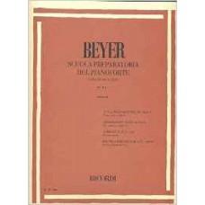 BEYER SCUOLA PREPARATORIA DEL PIANOFORTE OP. 101- PER GIOVANI ALLIEVI