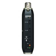 Shure X2U Adattatore di Segnale XLR a USB, Nero