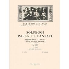 Ciriaco - Solfeggi Parlati e Cantati - II° Corso