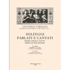 Ciriaco - Solfeggi Parlati e Cantati - III° Corso