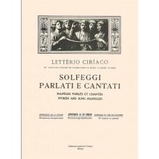 Ciriaco - Solfeggi Parlati e Cantati - Appendice al III° Corso