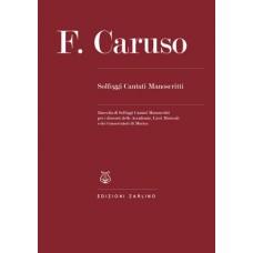 F.CARUSO SOLFEGGI CANTATI MANOSCRITTI