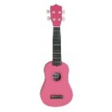 ukulele soprano colore rosa