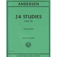 Andersen - 24 Studies Opus 30 For Flute