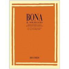 BONA - IL SOLFEGGIO - LIBRO + CD