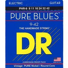 DR PHR-9 Pure Blues set corde chitarra elettrica 09-42