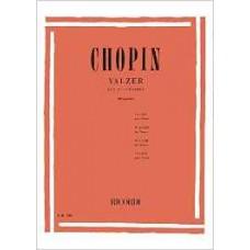 CHOPIN VALZER PER PIANOFORTE ER208 BRUGNOLI