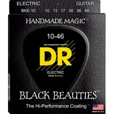 DR BKE-10 Black Beauties set corde chitarra elettrica 10-46