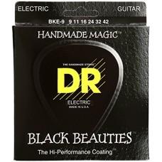 DR BKE-9 Black Beauties set corde chitarra elettrica 09-42