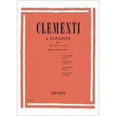 CLEMENTI 6 SONATINE PER PIANOFORTE OP.36