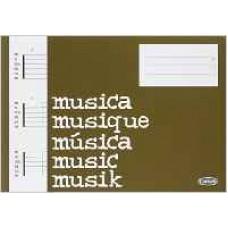 Quaderno di Musica (Block, Cahier de Musique) diagrammi per chitarra