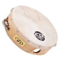 LP Latin Percussion LP861300 CP Tamburello Legno 6'' con Pelle CP376