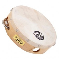 LP Latin Percussion LP861300 CP Tamburello Legno 6'' con Pelle CP376
