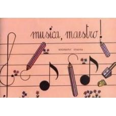 QUADERNO DA MUSICA 4 PENTAGRAMMI MINI BOOK PER BAMBINI
