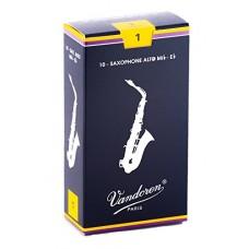 SR211 Vandoren Traditional-Ance per sassofono contralto, durezza 1) (confezione da 10)