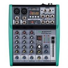 ZZIPP MXBTE4 Mixer 4 canali con multieffetto DSP e Bluetooth