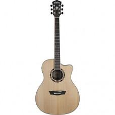 Washburn ag20ce chitarra elettro-acustica spalla mancante