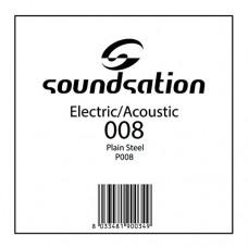 Corda Singola per Chitarra Elettrica o Acustica P008 (008)