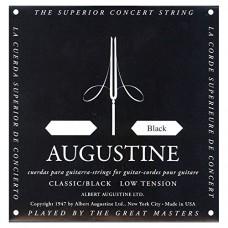Augustine, formato A5, colore: nero classico A 5 corde per chitarra classica