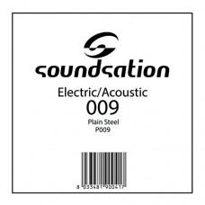 Corda Singola per Chitarra Elettrica o Acustica P009 (009)