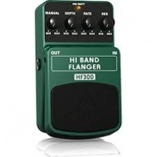 Behringer Hi Band Flanger HF300 Effetto a pedale per chitarra e tastiera