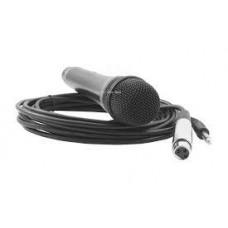 GE Microfono dinamico con interruttore e cavo