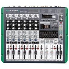 ZZIPP ZZMX8R MIXER 8 CANALI USB SD MP3 REGISTRAZIONE